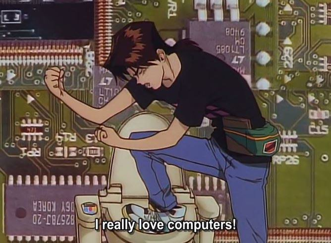 i really love computers